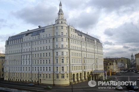 Здание гостиницы Балчуг Кемпински
