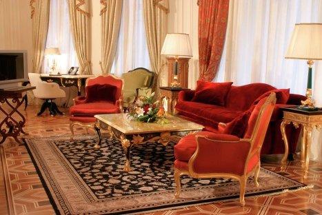 Трехкомнатные апартаменты  в отеле Савой