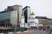 Панорама площади Тверской заставы в Москве