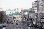 Панорама Пушкинской площади в Москве