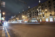 Cамые освещенные места в Москве – Тверская улица