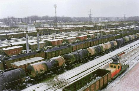 Сортировочная станция Транссиб - Хабаровск