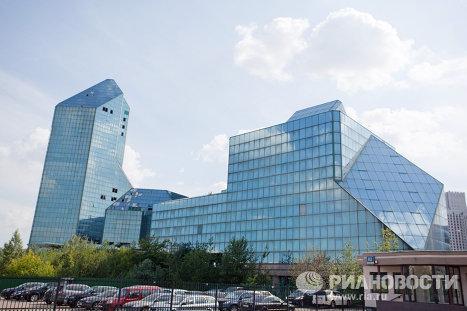 Недостроенный бизнес-центр Зенит