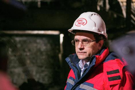 Начальник управления комплексного проектирования НПО Космос Сергей Чеботарев