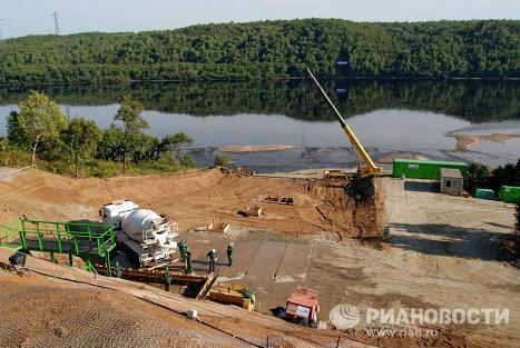 Строительная площадка Нижне-Бурейской ГЭС