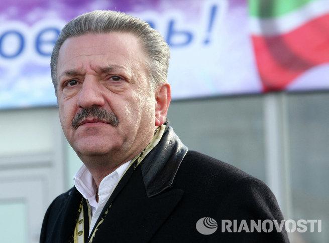Президент группы АСТ Тельман Исмаилов в Грозном