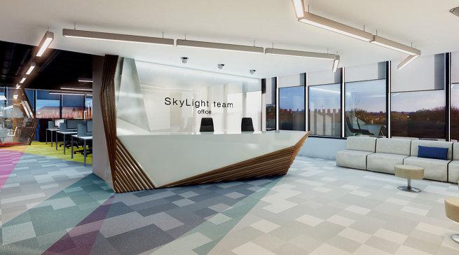 Итоги конкурса дизайна офисов в БЦ SkyLight
