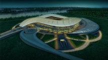 Макет стадиона в Ростове-на-Дону к ЧМ-2018