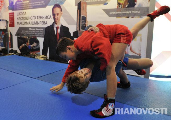 Презентация спортивного комплекса И.Винер-Усмановой в Новогорске