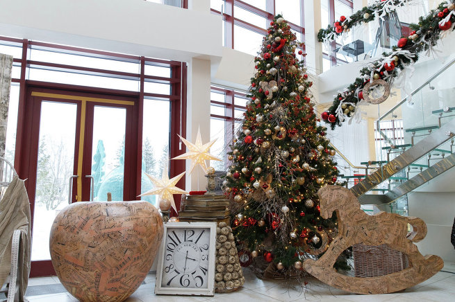 5 модных трендов новогоднего декора