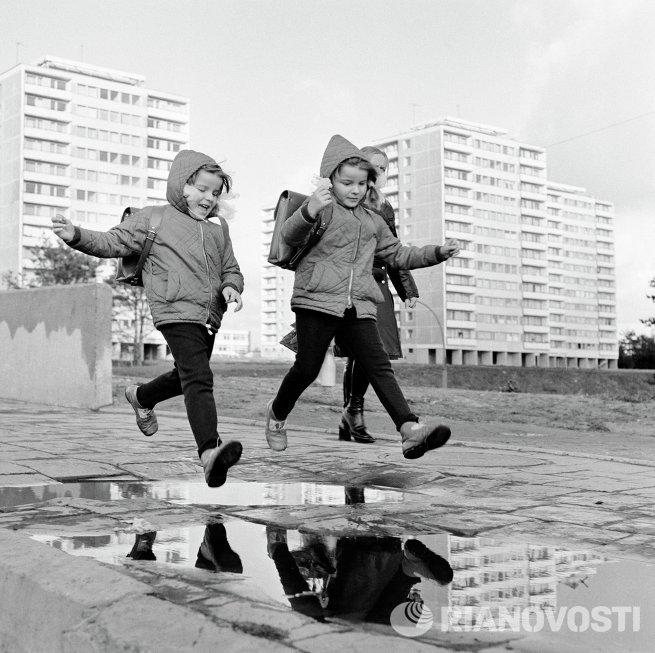 В районе Ладзинай Вильнюса