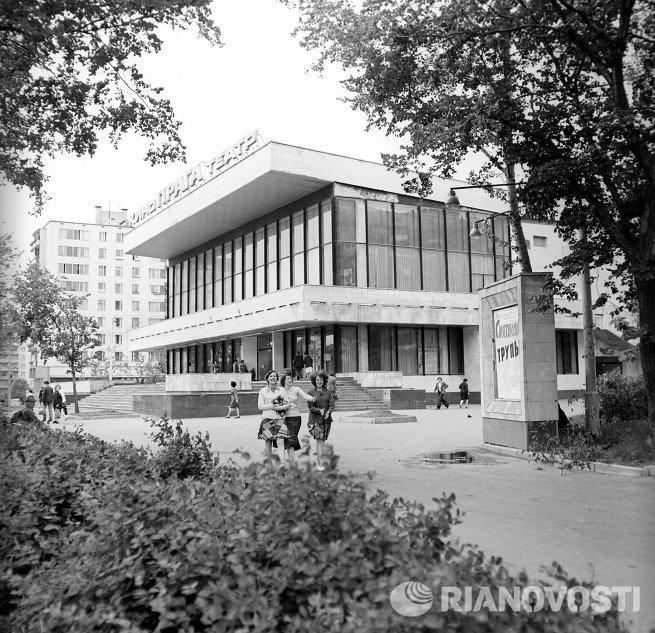 Здание кинотеатра Прага