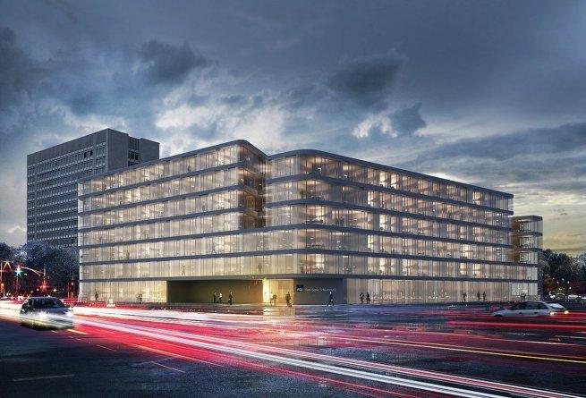 Проект кампуса в Дюссельдорфе от архбюро Eller+Eller Architekten