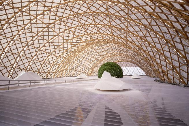 Павильон Японии на всемирной выставке Экспо-2000