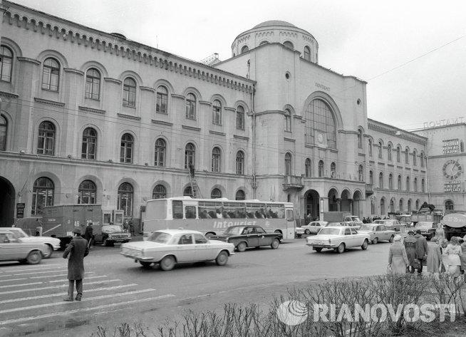 Здание московского главпочтамта