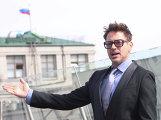 Фотоколл актеров фильма Железный человек 3