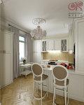Как правильно оформить пространство малогабаритной кухни // Дизайн-студия Ольги Кондратовой