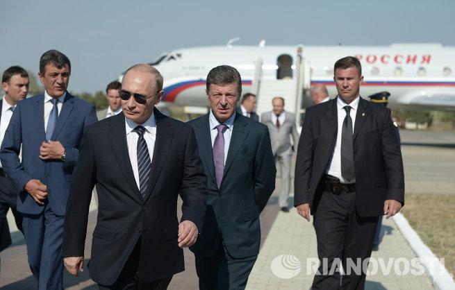 Рабочая поездка В.Путина в Крымский федеральный округ