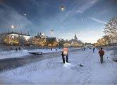 Проект развития територий Москвы-реки бюро MEGANOM