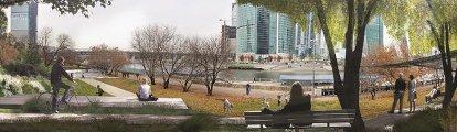 Проект развития територий Москвы-реки бюро ОСТОЖЕНКА