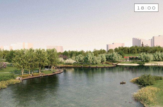 Проект парка Митино