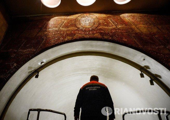 Станция метро Бауманская закрыта на реконструкцию