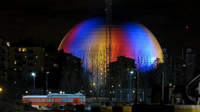 Ericsson Globe в Стокгольме