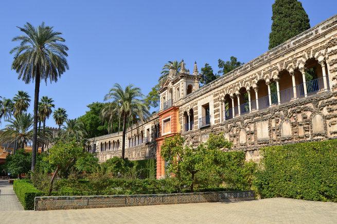 Алькасар в Севилье
