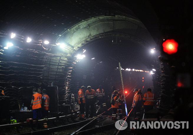 Ремонтные работы в московском метро