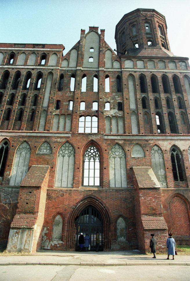 Разрушенный Кафедральный собор на острове Канта