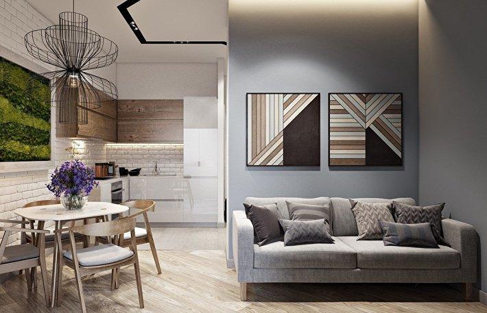 7 идей дизайна интерьера в стиле андеграунд