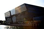 Здание Королевской библиотеки Дании