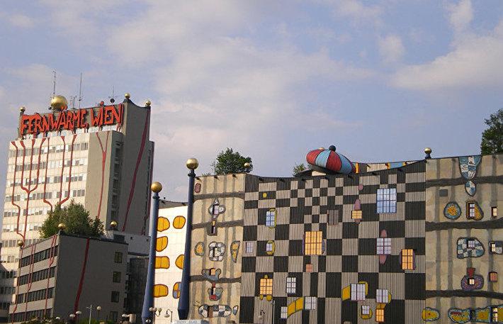 Здание мусоросжигательного завода Шпиттелау