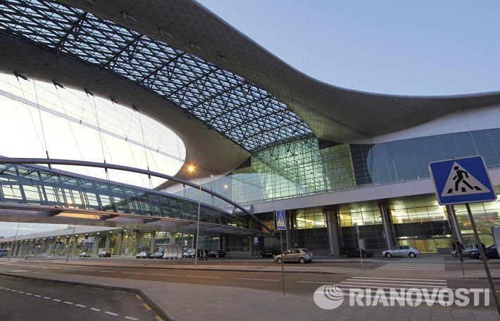 Здание аэропорта Шереметьево Терминал D