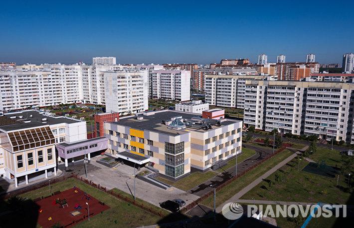 Мэр Москвы Сергей Собянин осмотрел здание школы №2031