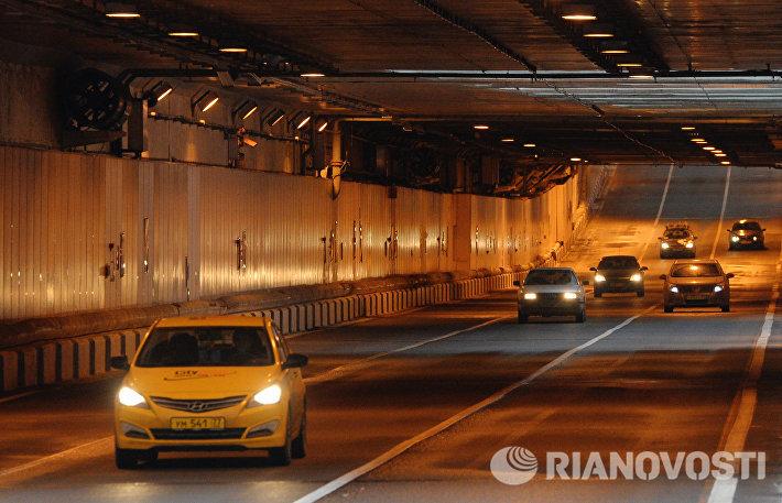 Открытие движения по Алабяно-Балтийскому тоннелю в Москве