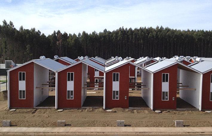 Поселок Villa Verde, Конститусьон, Чили, 2013