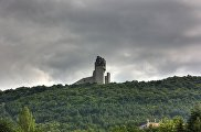 Памятник 1300-летия Болгарии панорама