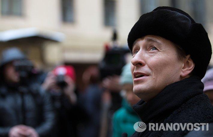 Актер Сергей Безруков провёл экскурсию по гоголевским местам