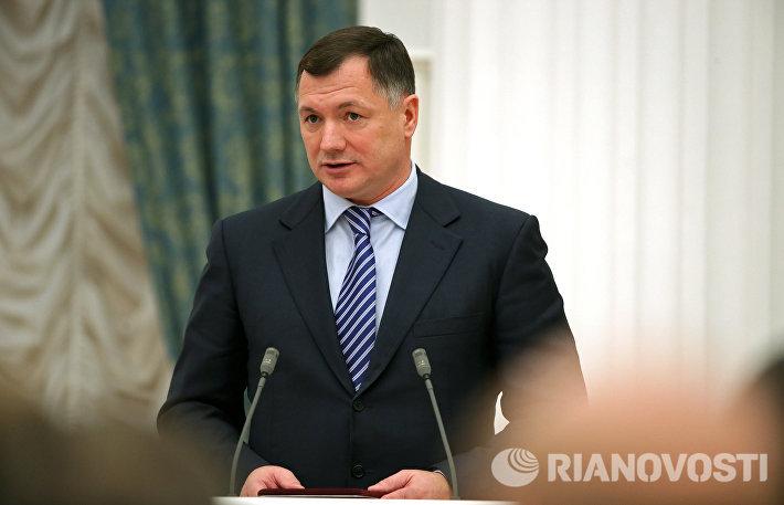 аместитель мэра в правительстве Москвы по вопросам градостроительной политики и строительства Марат Хуснуллин