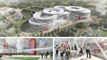 Глазами Захи Хадид: как будет выглядеть Технопарк Сбербанка в Сколково