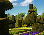 Сад Левенс Холл, Англия