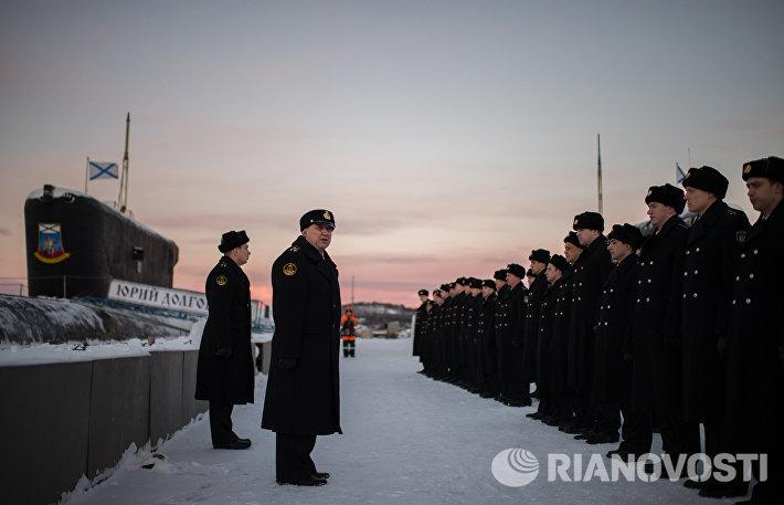 Подводники Северного флота ВМФ РФ
