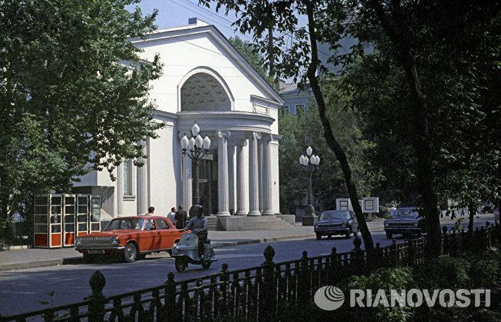 Вид на здание Московского театра Современник