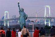 Статуя Свободы в Токио
