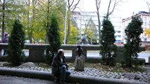 Памятник Муми-Троллю в Финляндии