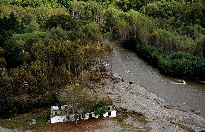 Последствия тайфуна Лайнрок в Приморском крае