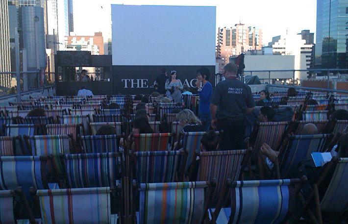Кинотеатр Rooftop Cinema, Мельбурн, Австралия
