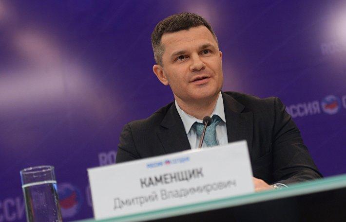 Брифинг председателя Совета директоров аэропорта Домодедово Дмитрия Каменщика