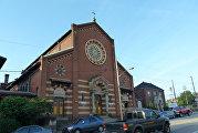 Церковь с пивоварней в Пенсильвании